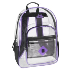 Trailmaker Clear Backpack Purple