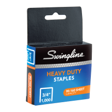 Swingline Heavy Duty Staples 34 Box