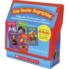 Scholastic K 2 Easy Reader Boxed