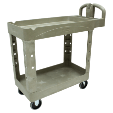 Rubbermaid 2 Shelf Service Cart 33