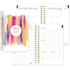 Rediform Academic Monthly Planner AcademicProfessional Weekly
