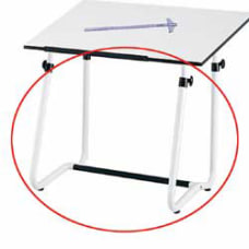 Safco Vista Drawing Table Base White