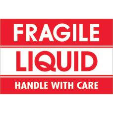 Tape Logic Preprinted Labels DL2165 Fragile
