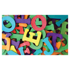 Pacon 1 12 Wooden Capital Letters