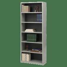 Safco Value Mate Steel Bookcase 6