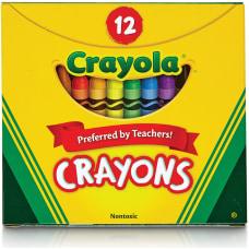Crayola Tuck Box 12 Crayons Assorted