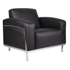 Boss CaressoftPlus Lounge Club Chair BlackSilver