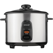 Brentwood 18 Liter Rice Cooker Stainless