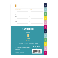 Emily Ley Simplified System 1 Page
