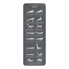 Gaiam Restore Self Guided Fitness Mat