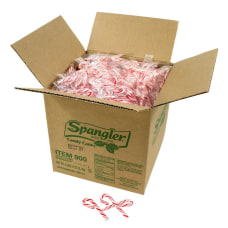 Spangler Mini Peppermint Candy Canes Bag