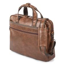Bugatti Valentino Vegan Leather Briefcase 12