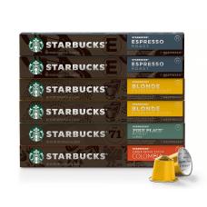 Starbucks Nespresso Pods Variety Pack 12