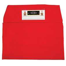 Seat Sack Organizers Standard 14 Red