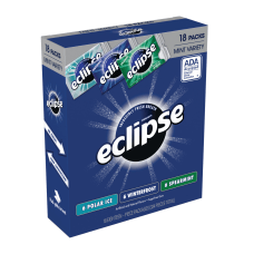 Eclipse Mint Gum Box Of 18