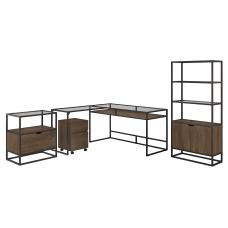 Bush Furniture Anthropology 60 W Glass