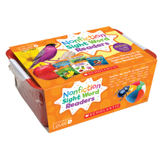 Scholastic Nonfiction Sight Word Readers Level