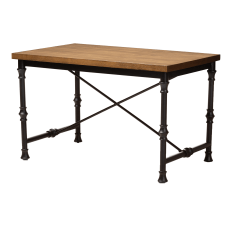 Baxton Studio Ayaz Cross Desk Dark