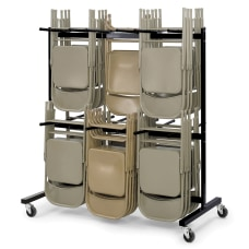 Safco 2 Tier Mobile Folding Chair