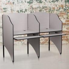 Flash Furniture Add On Study Carrel