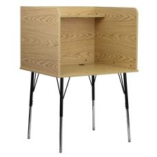 Flash Furniture Adjustable Study Carrel 53