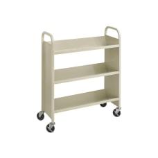 Safco Steel 3 Shelf Single Sided