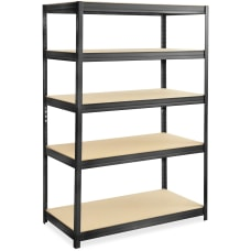 Safco Boltless SteelParticleboard Shelving Unit 5