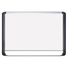 MasterVision Porcelain Dry Erase Whiteboard 24
