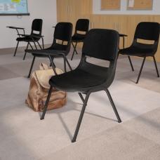 Flash Furniture Tablet Arm Chair Black