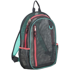 Eastsport Sport Mesh Backpack Graphite
