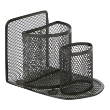 Mind Reader Metal Mesh 3 Compartment