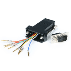 StarTechcom DB9 to RJ45 Modular Adapter