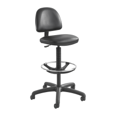 Safco Precision Extended Height Chair Black