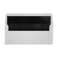 LUX Foil Lined Square Flap Envelopes