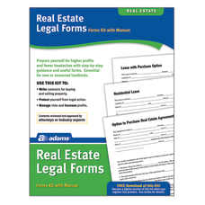 Adams Real Estate Legal Forms Kit