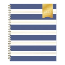 Day Designer Refined Stripe Frosted WeeklyMonthly