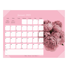 Brownline Breast Cancer Monthly Desk Pad