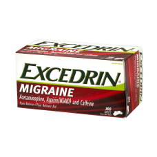 Excedrin Migraine Pain Reliever Caplets Pack