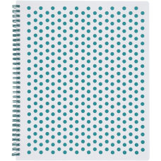 TOPS Polka Dot Design Spiral Notebook