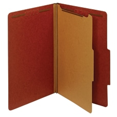 Office Depot Brand Classification Folders 1