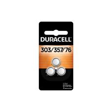 Duracell Silver Oxide 303357 Button Batteries
