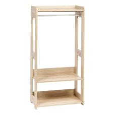 IRIS Compact Wood Garment Rack 47
