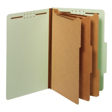 Office Depot Classification Folders 3 Dividers