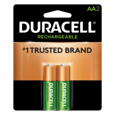 Duracell NiMH Rechargeable AA Batteries Pack