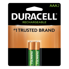 Duracell NiMH Rechargeable AAA Batteries Pack