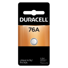 Duracell Alkaline 76A Battery Pack Of