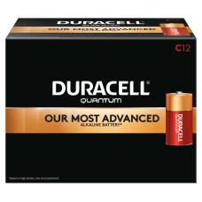 Duracell Quantum Alkaline C Batteries Pack