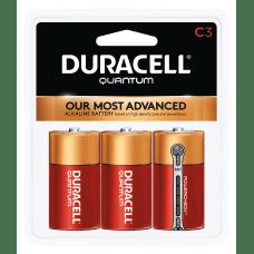 Duracell Quantum C Alkaline Batteries Pack