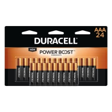 Duracell Coppertop Alkaline AAA Batteries Pack