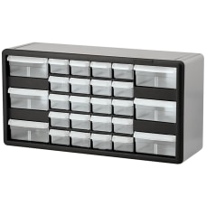 Akro Mils Plastic 26 Drawer Stackable